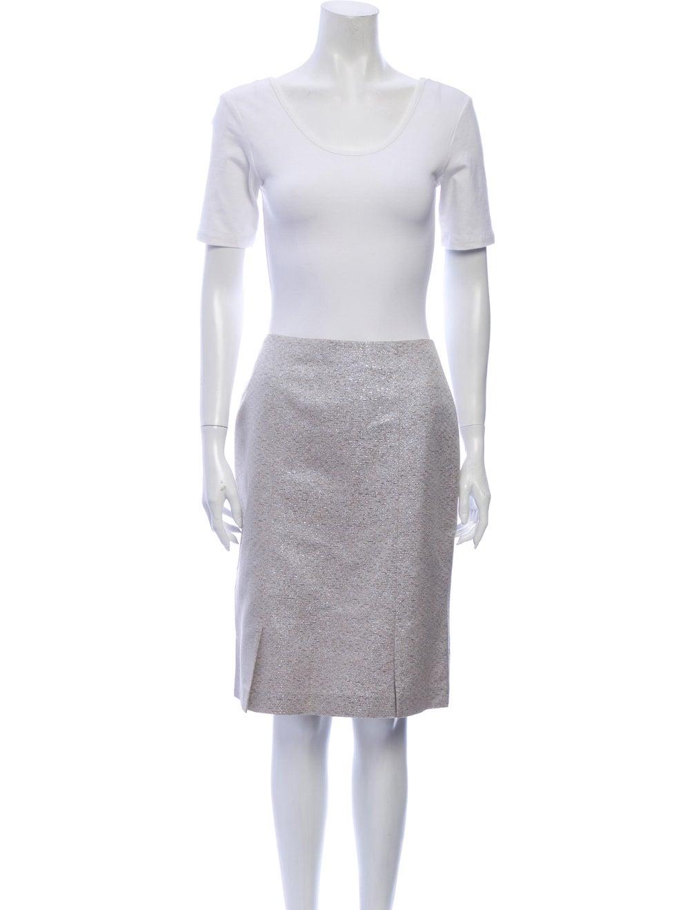 Kay Unger Skirt Set Metallic - image 4