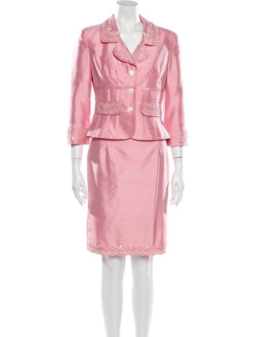 Kay Unger Skirt Set Pink