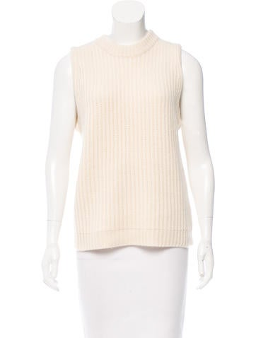 Kule Sleeveless Cashmere Sweater w/ Tags None