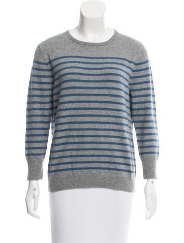 Kule Cashmere Striped Sweater w/ Tags None