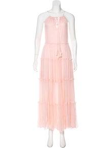 a03db014f9bd Karina Grimaldi. Sleeveless Maxi Dress