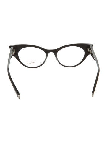 Embellished Cat-Eye Eyeglasses