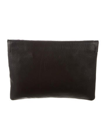 Red Disco Lip Port Of Call Clutch