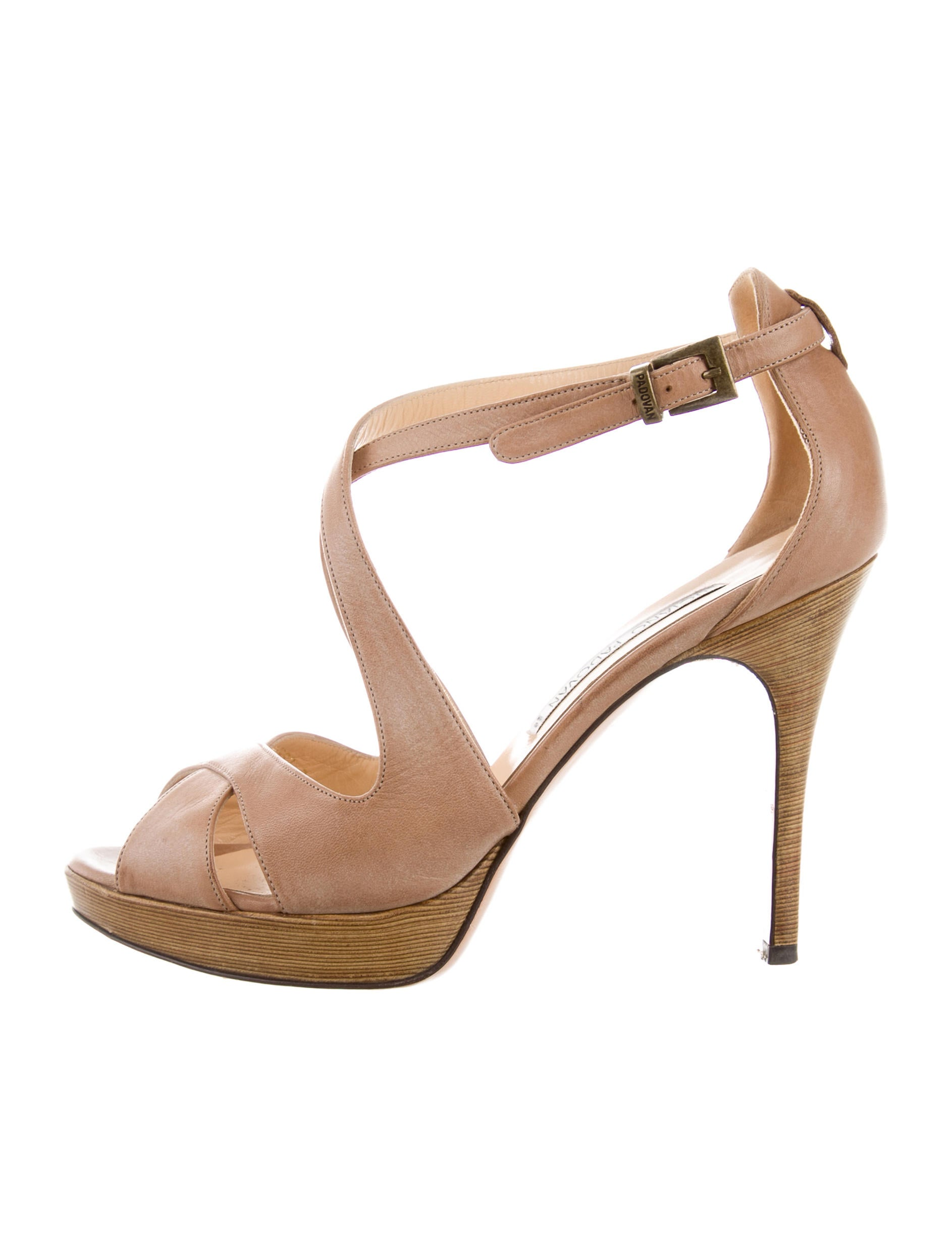 Luciano Padovan Patent Leather Crossover Sandals outlet locations online discount websites 9RDjJe6H7