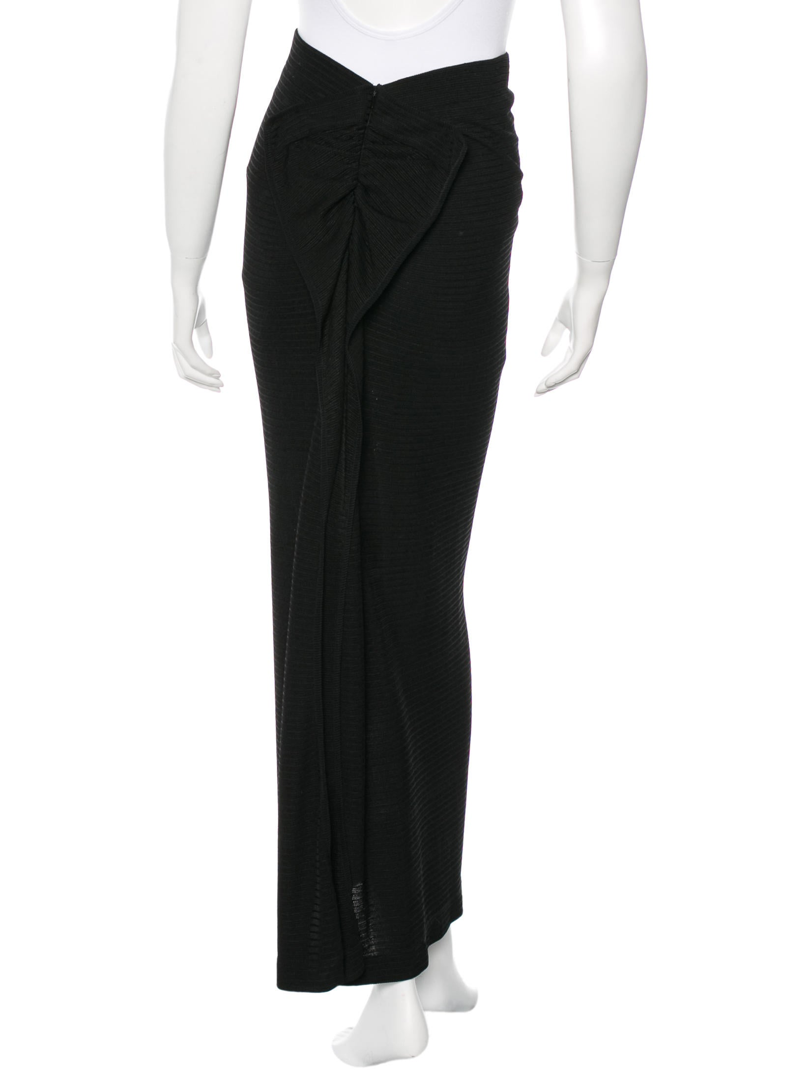 l agence knit maxi skirt clothing wl324506 the realreal