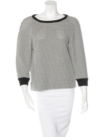 L'Agence Basket Weave Oversize Top w/ Tags None