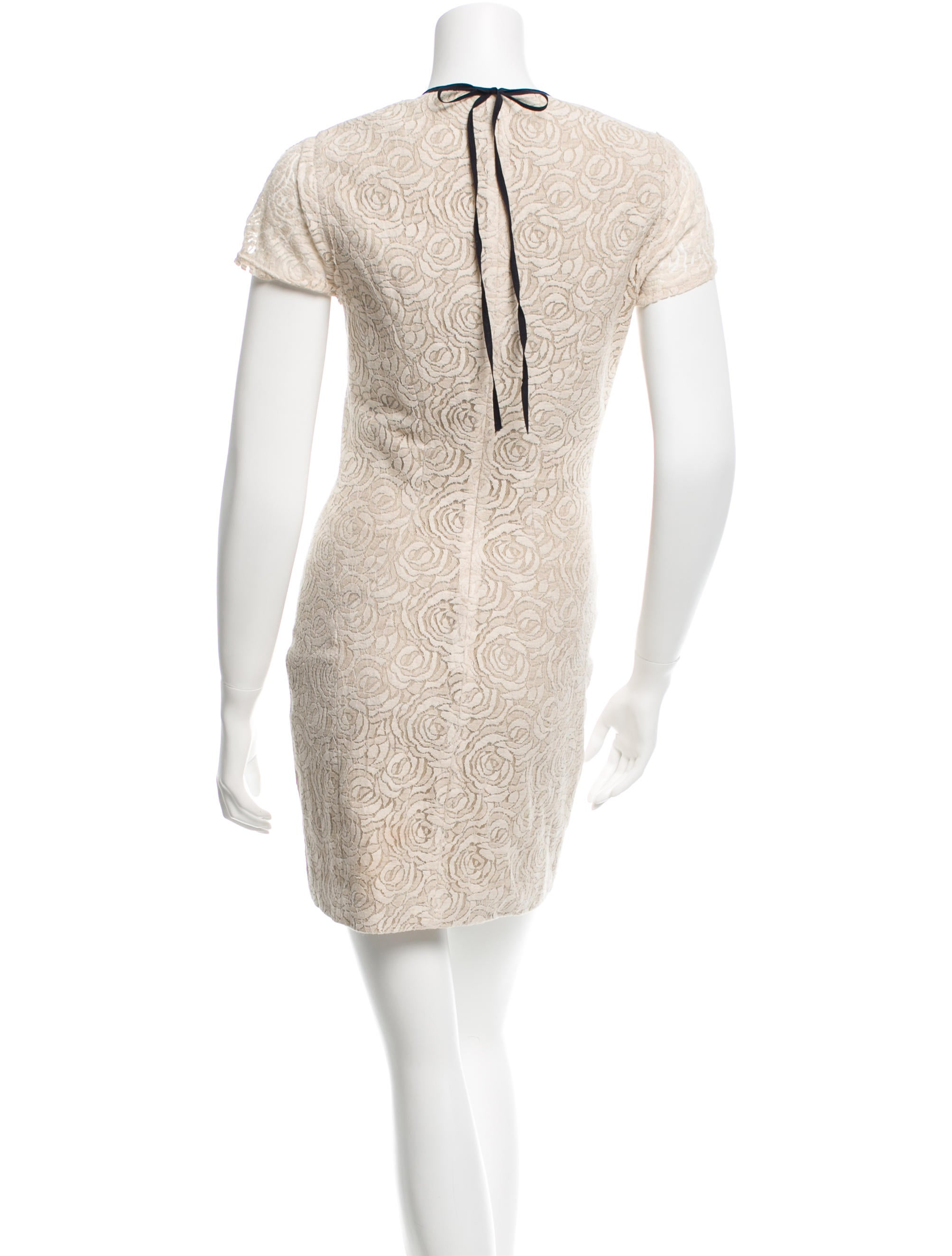 L agence floral embroidered mini dress clothing
