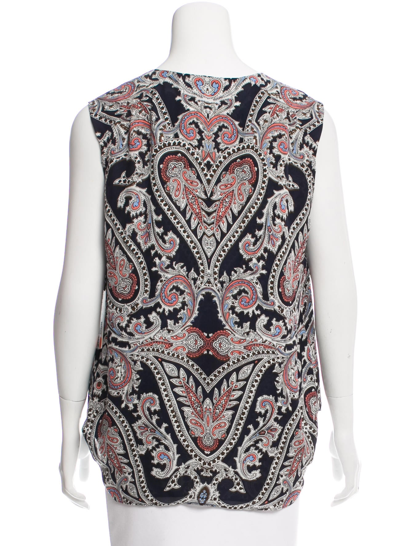 f073850d4d38de L Agence Abella Silk Top w  Tags - Clothing - WL325587