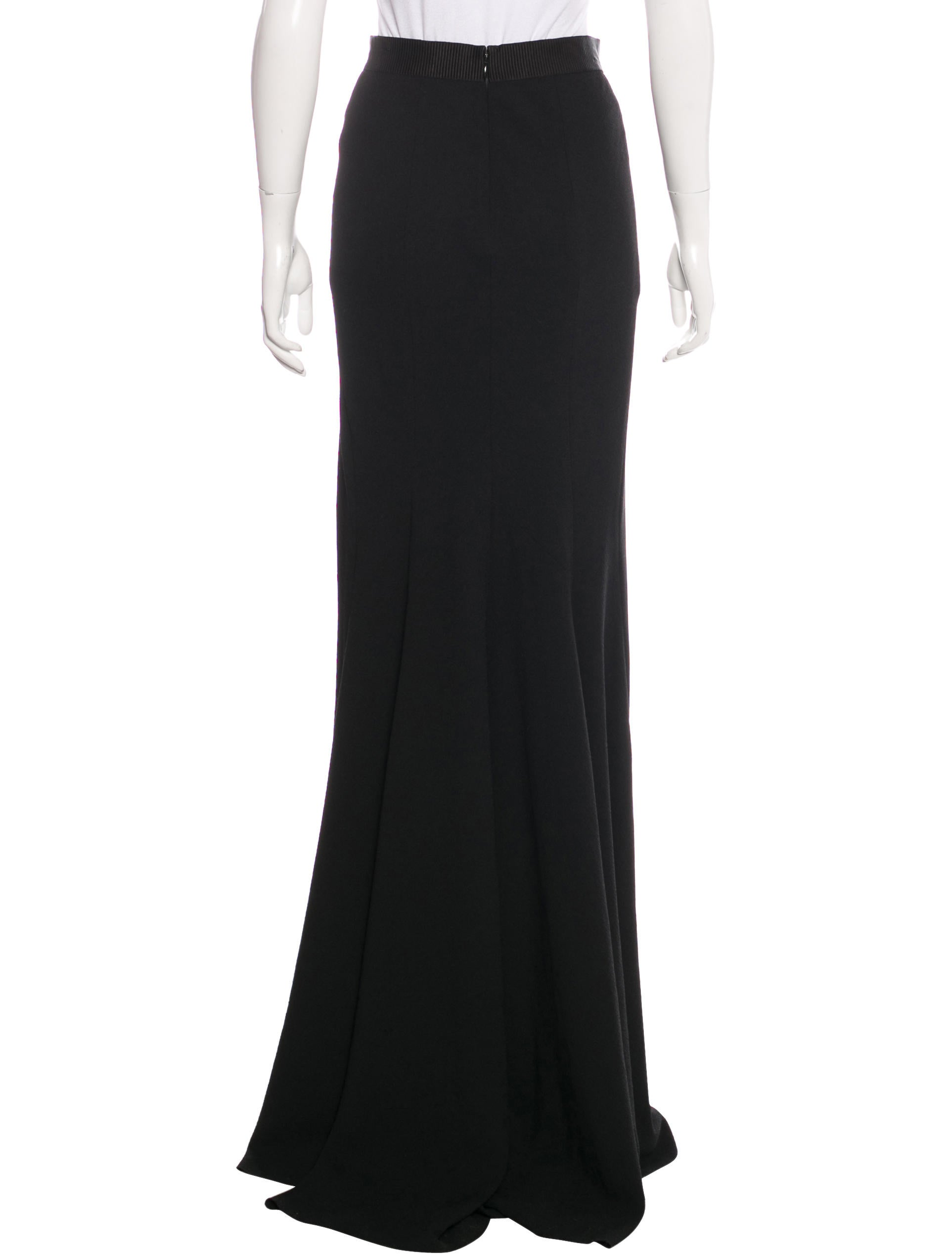 l agence fitted maxi skirt clothing wl325787 the