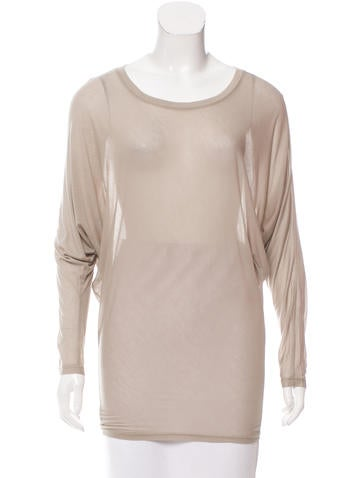 L'Agence Long Sleeve Top None