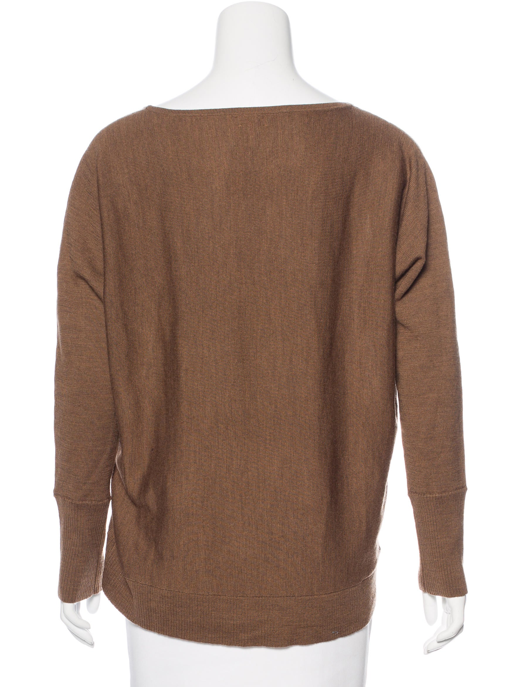 L 39 agence merino wool oversize sweater clothing for Merino wool shirt womens