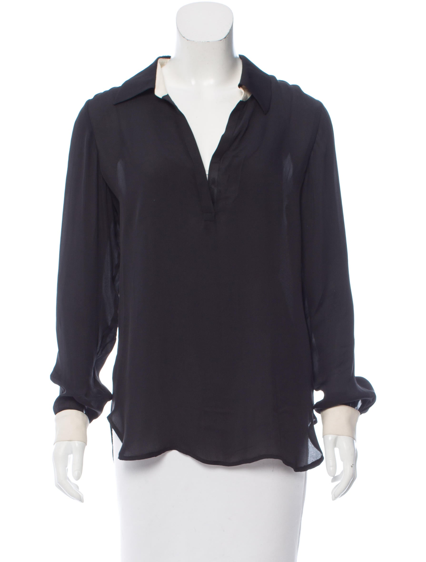 FREE SHIPPING on orders over $ FREE RETURNS in store. This soft silk shirt will be your workday go-to. $