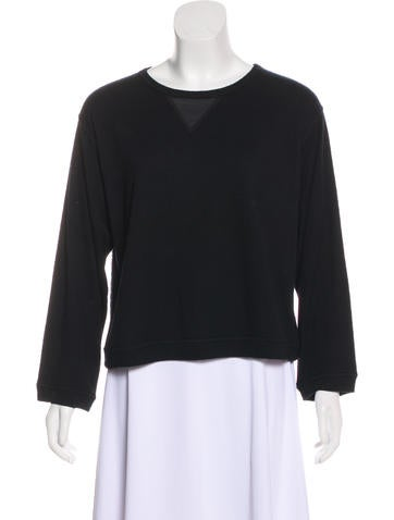 L'Agence Oversize Long Sleeve Top None