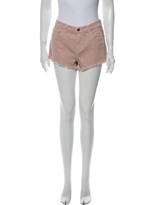 L'Agence Mini Shorts Pink