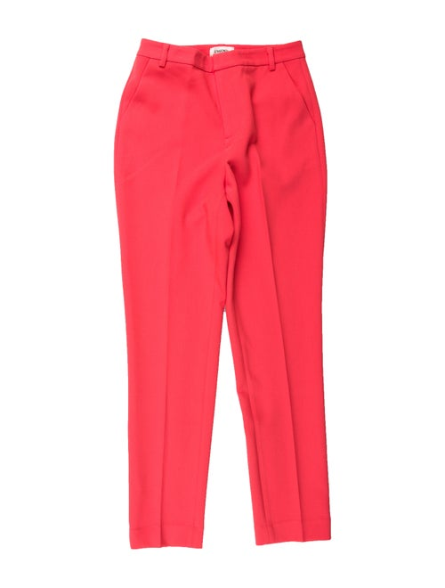 L'Agence Straight Leg Pants w/ Tags Orange