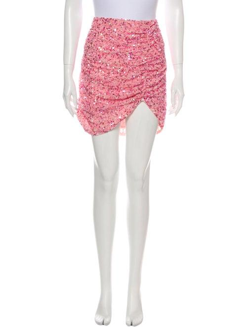 L'Agence Mini Skirt w/ Tags Metallic