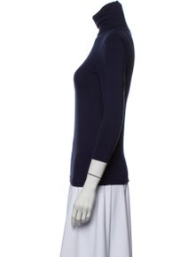 L'Agence Turtleneck Three-Quarter Sleeve Top w/ Tags