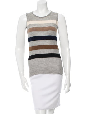 Lucien Pellat-Finet Striped Knit Top None