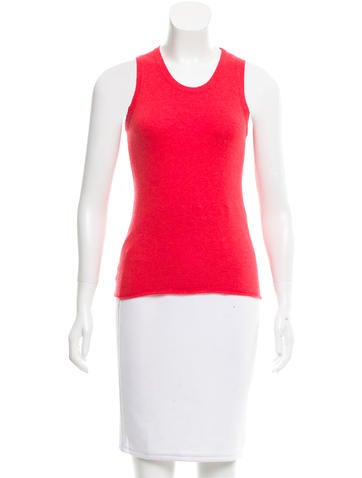 Lucien Pellat-Finet Sleeveless Scoop Neck Sweater None