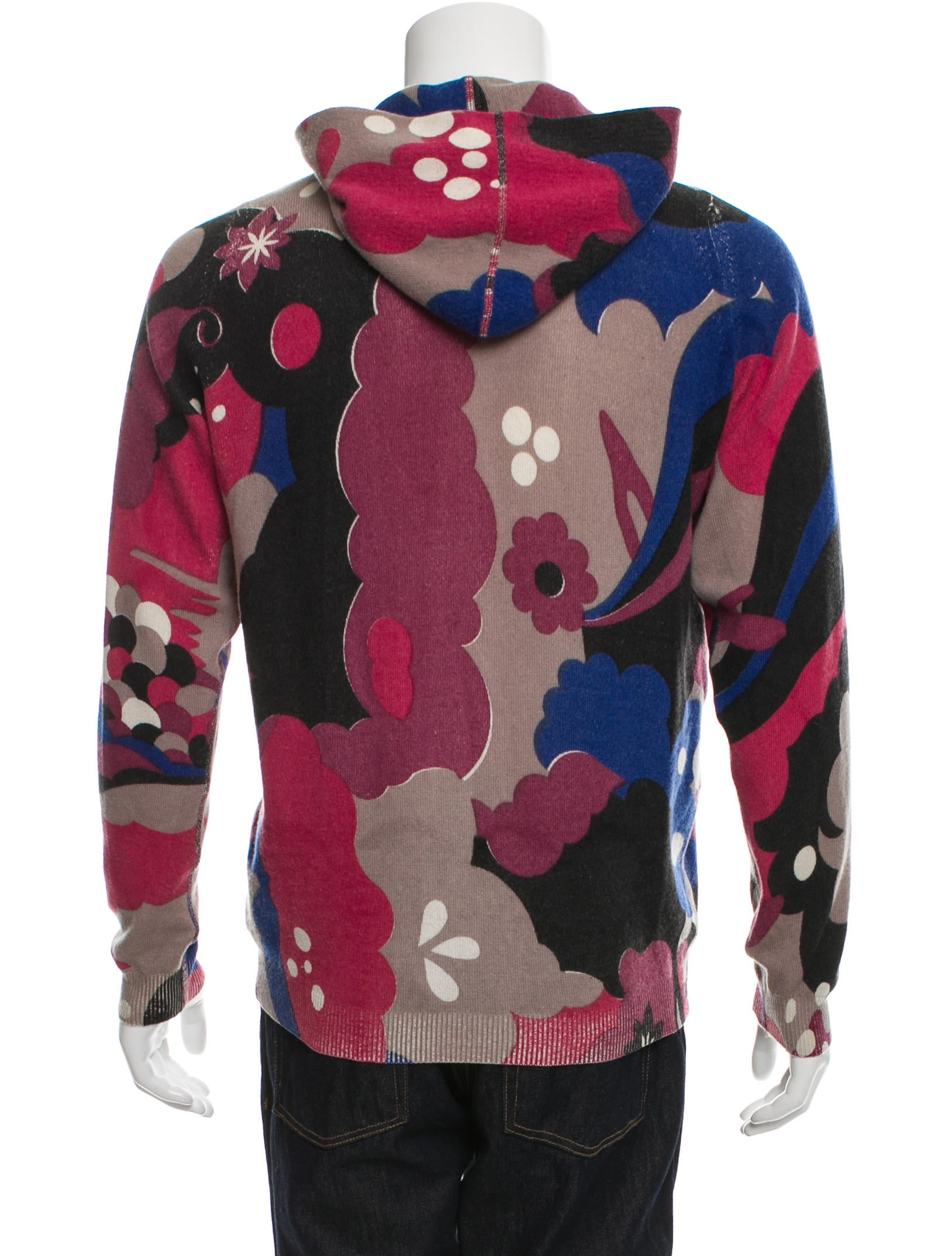 Lucien Pellat-Finet Patterned Cashmere Sweater - Clothing ...