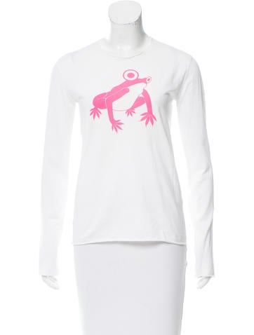 Lucien Pellat-Finet Graphic Printed Long Sleeve Top None