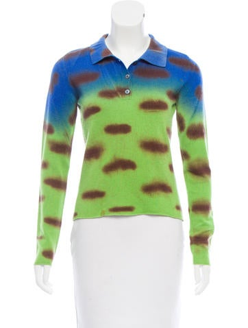 Lucien Pellat-Finet Printed Cashmere Top None
