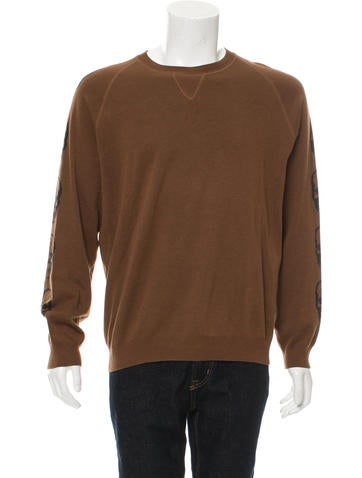 Lucien Pellat-Finet Cashmere-Blend Skull Patterned Sweater None