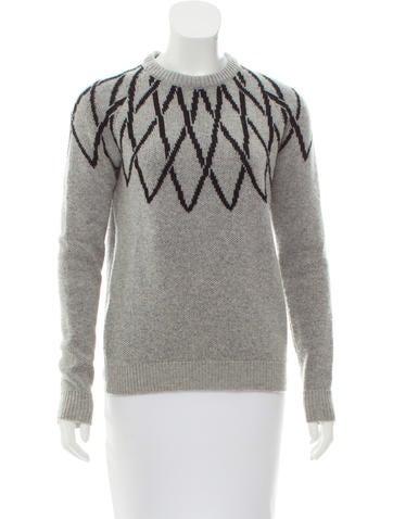Lucien Pellat-Finet Wool Patterned Sweater None