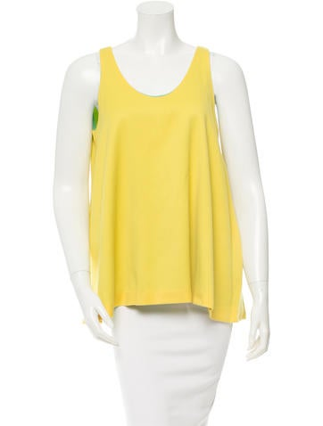 Lisa Perry Wool Sleeveless Top None