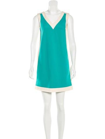 Lisa Perry Sleeveless Shift Dress None
