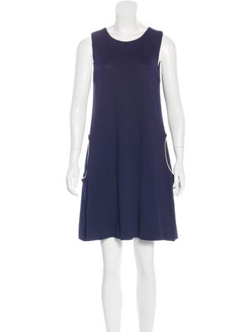Lisa Perry Sleeveless A-Line Dress None