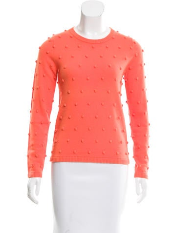 Lisa Perry Cashmere Embroidered Sweater None