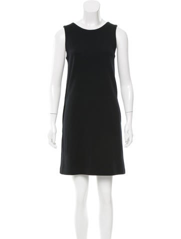 Lisa Perry Wool Mini Dress None