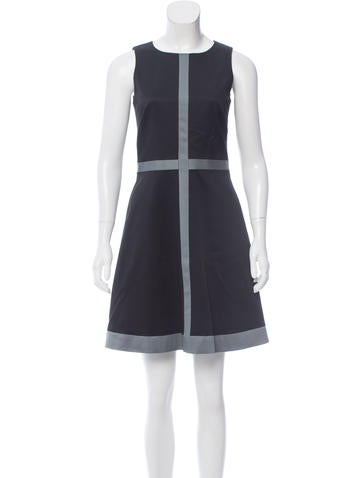 Lisa Perry Sleeveless Mini Dress None