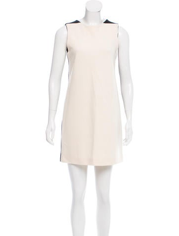 Lisa Perry Sleeveless Knit Mini Dress None