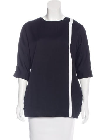 Lisa Perry Colorblock Knit Top None