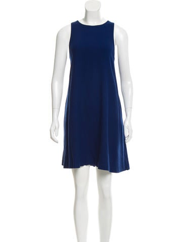 Lisa Perry Wool Shift Dress None