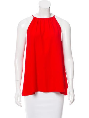 Lisa Perry Sleeveless Tent Top None