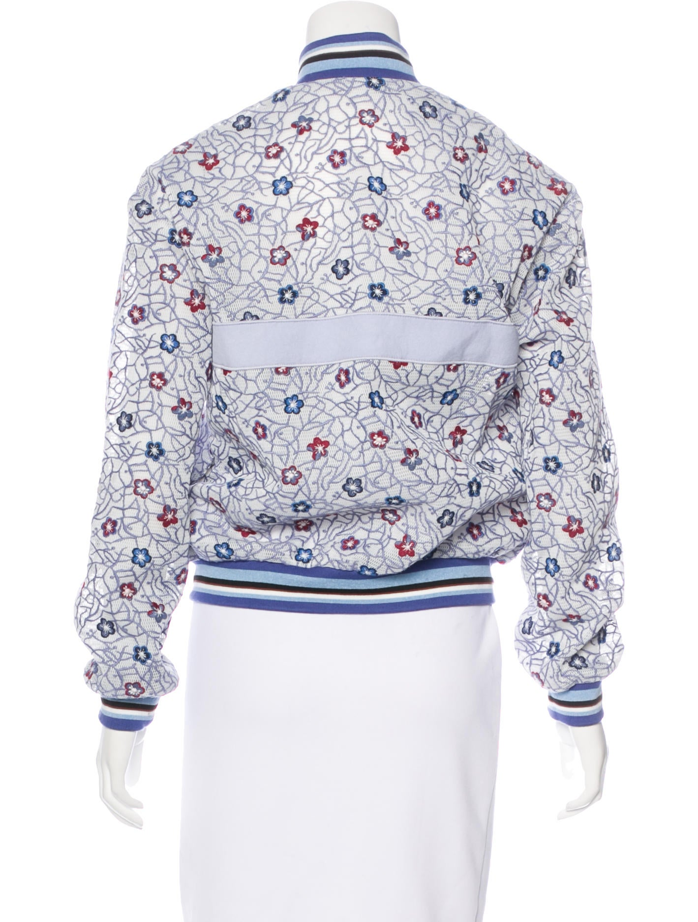 Longchamp spring embroidered jacket w tags