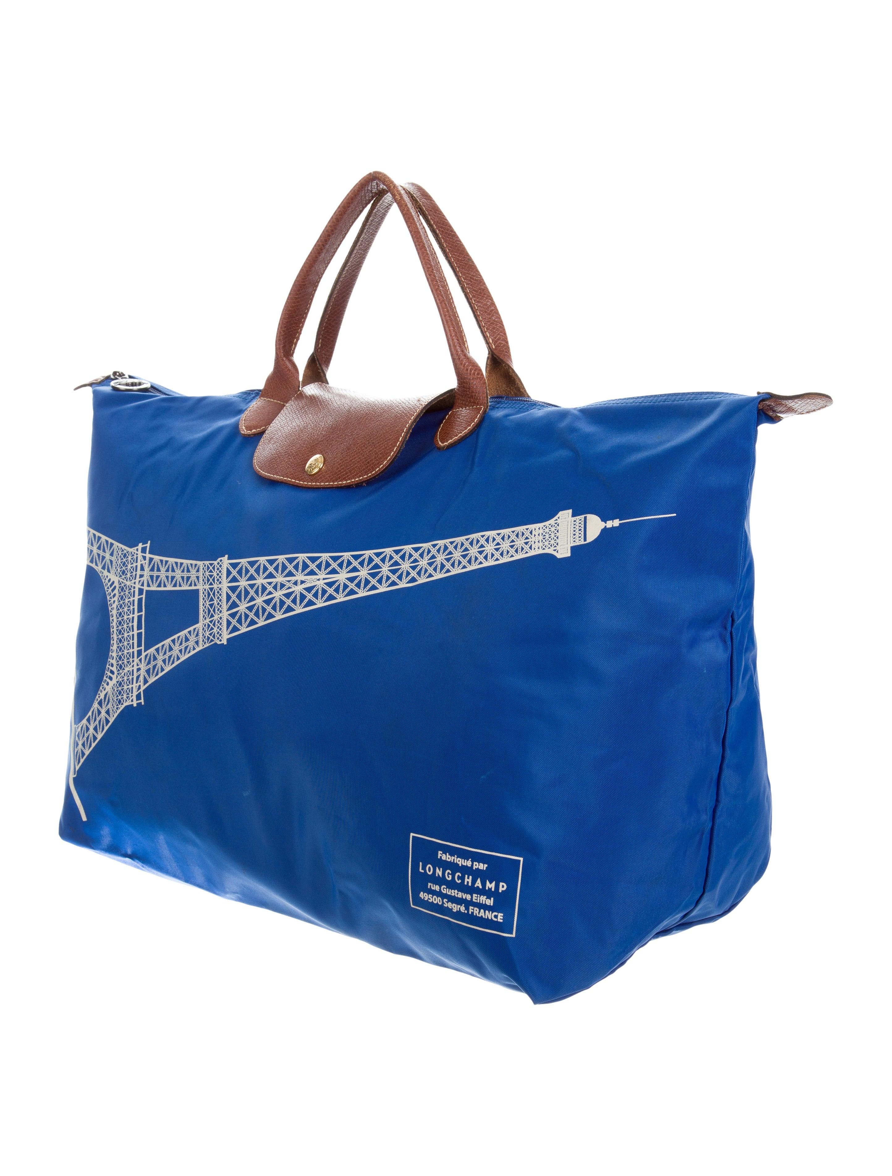 Longchamp Eiffel Laukku : Longchamp eiffel tower le pliage tote handbags