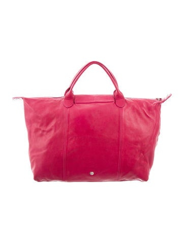 Medium Le Pliage Cuir Bag