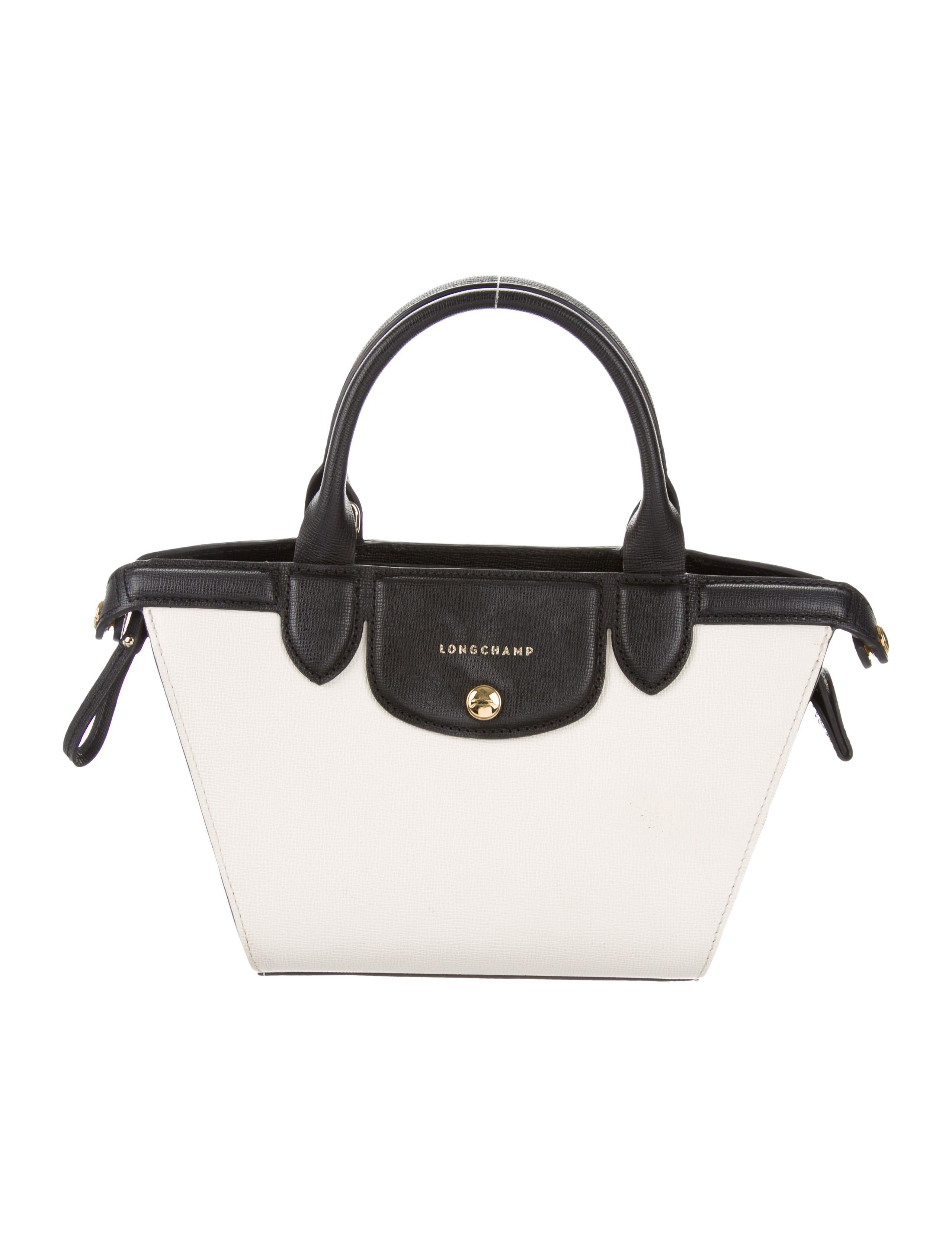 95f053731e5c Longchamp Small Le Pliage Heritage Satchel - Handbags - WL822214 ...