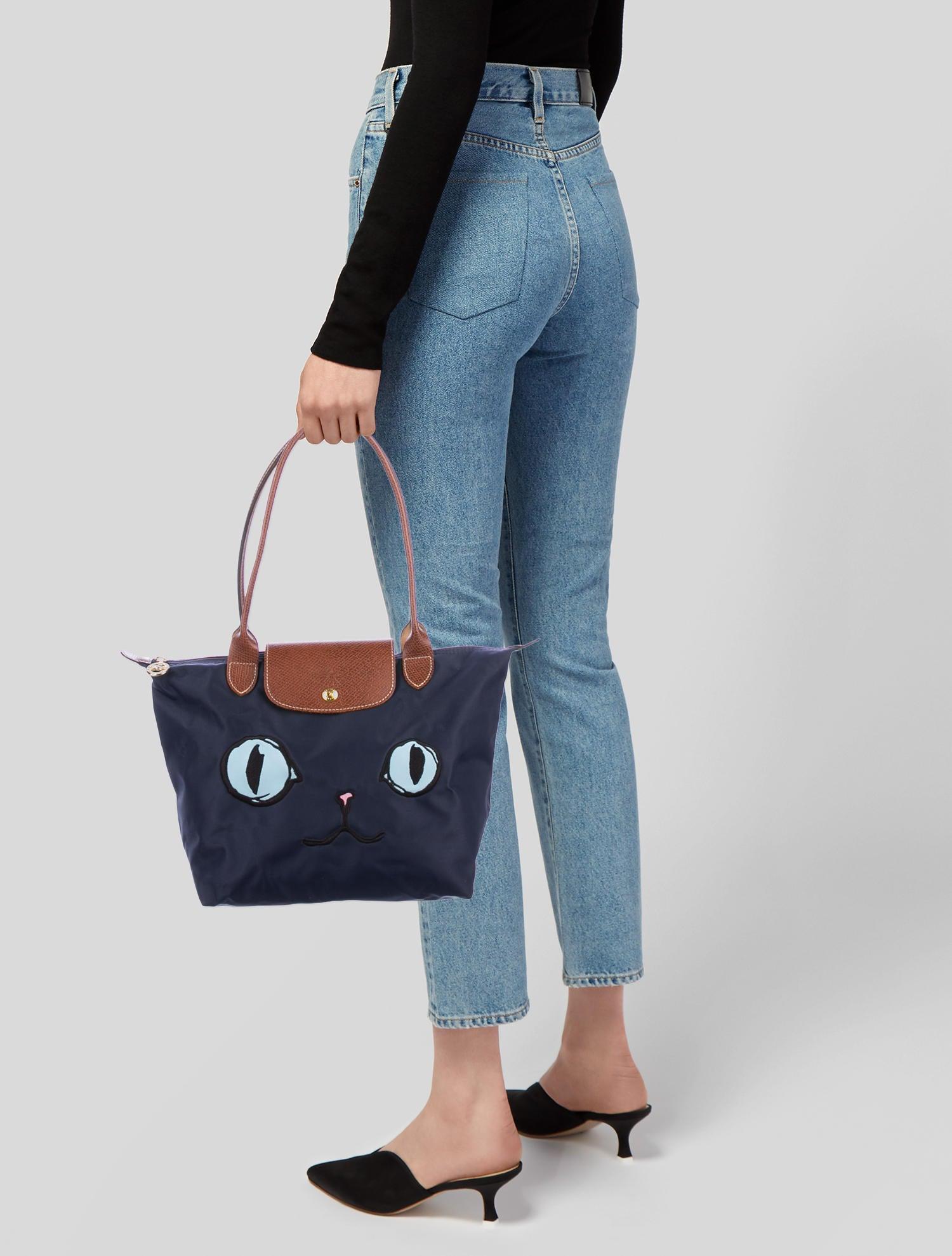 Longchamp Le Pliage Miaou Cat Small Tote - Handbags - WL824247 ...