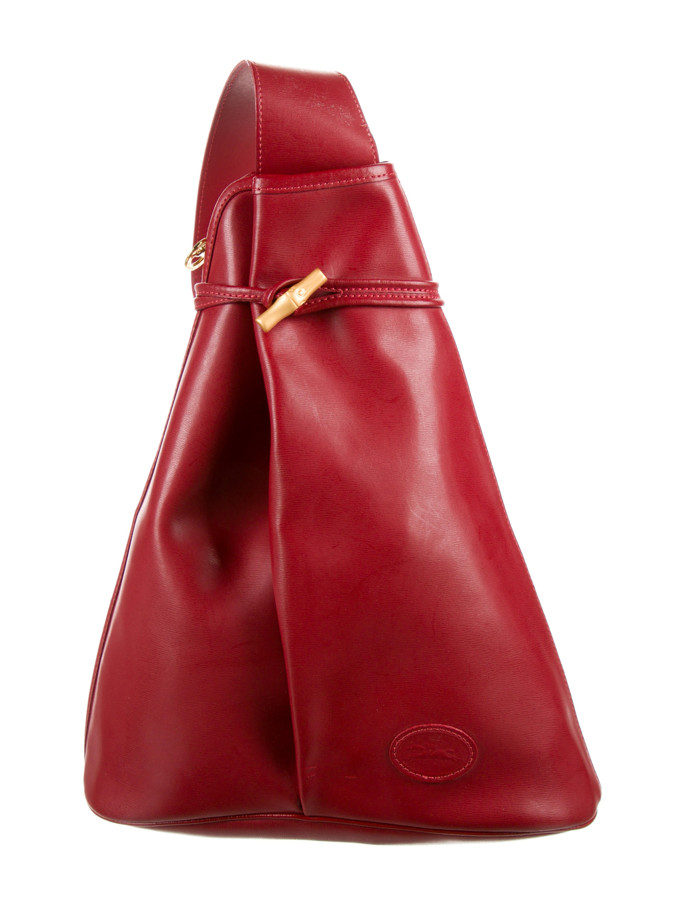 Longchamp Roseau Sling Bag - Handbags - WL835983   The RealReal