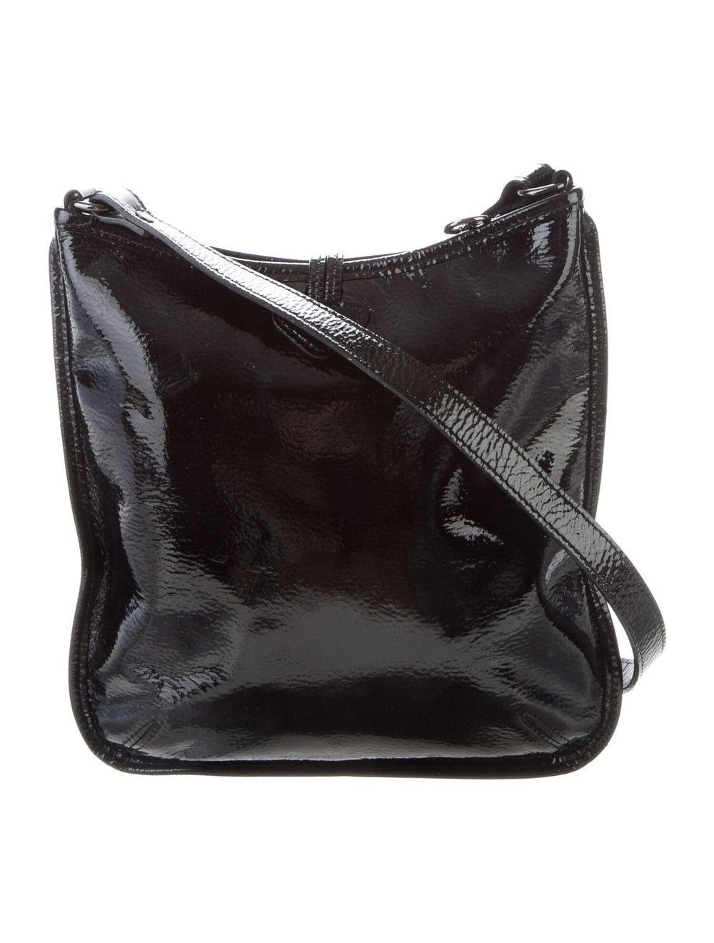 Longchamp Patent Leather Crossbody Bag Black - image 4