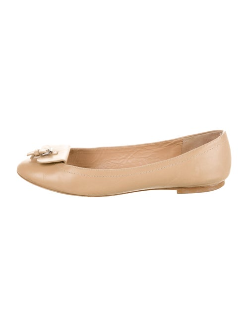 Longchamp Leather Ballet Flats