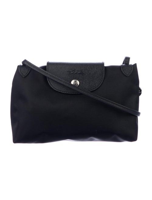 Longchamp Le Pliage Nylon Crossbody Bag Black