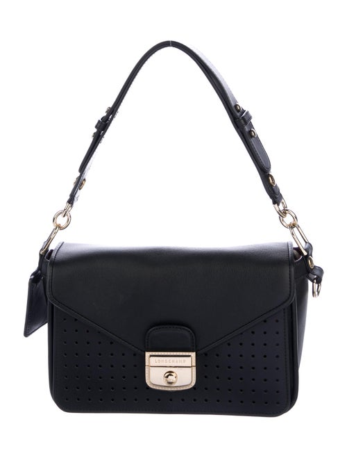 Longchamp 2018 Mille Crossbody Bag Black