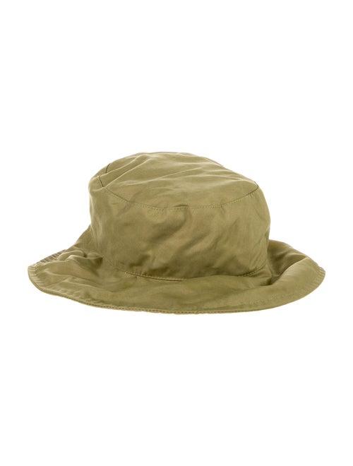 Longchamp Olive Green Bucket Hat Olive