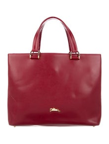 Longchamp Leather Handle Bag